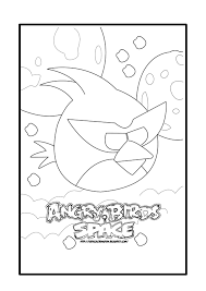 angry birds space coloring pages angry birds printables angry
