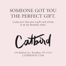 gift card online gift cards catbird
