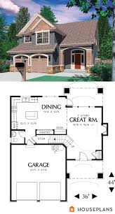 Narrow Lot House Plans Craftsman 1500 Sft Traditional House Plan Houseplans Plan 48 113 Small
