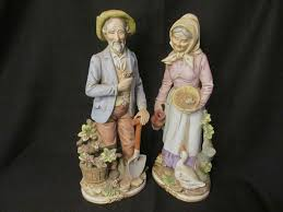 home interior figurines homco 13 3 4 figurines 8816 sold on ruby