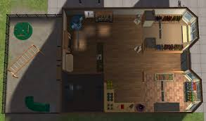 mod the sims classic apartments with general store