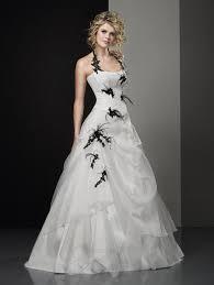 robe de mari e noir et blanc robe de mariée en noir et blanc le mariage