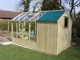 swallow combination greenhouse shed 4 u0027 w garden glasshouse