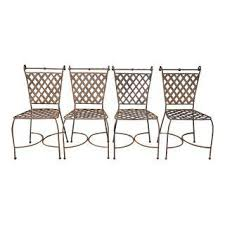 Patio Furniture Chattanooga Vintage U0026 Used Wrought Iron Patio And Garden Furniture Chairish
