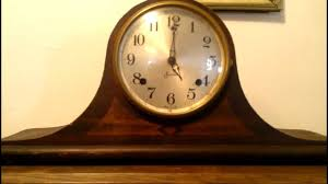 Forestville Mantel Clock Old Sessions Mantle Clock Strikes 5 Youtube