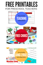 free printables for preschool no time for flash cards