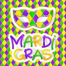 colors for mardi gras green yellow and violet colors carnival mask with colorful mardi