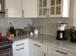 Peel And Stick Backsplash Mosaic Metallic Glass Tile - Peel and stick kitchen backsplash tiles