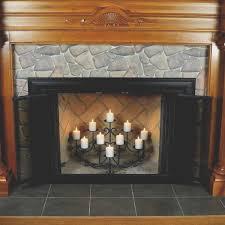 fireplace new fireplace candelabras wonderful decoration ideas