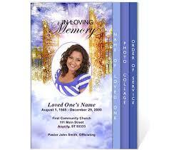 funeral program template free 31 funeral program templates free