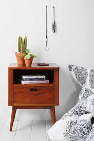 height of bedside table moda nightstand 239 length 17