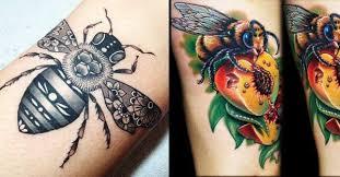 25 humble bee tattoos tattoodo