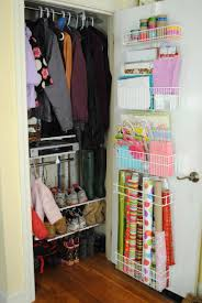 innovative small space saving closet organization ideas having two