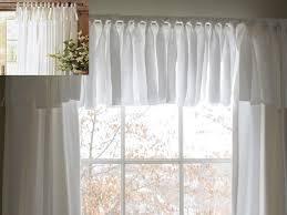 How To Make A No Sew Window Valance Diy Easy No Sew Window Valance Pottery Barn Inspired