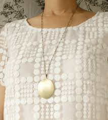 monogram locket necklace custom brass monogram locket necklace jewelry necklaces sora