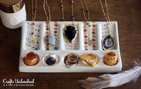 colored necklace display images Candy colored diy jewelry display dish jpg