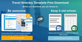 Free Travel Itinerary Template Excel 9 Useful Travel Itinerary Templates That Are 100 Free