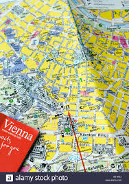 Book Map A Tourist Guide Book And Street Map Of Central Vienna Austria