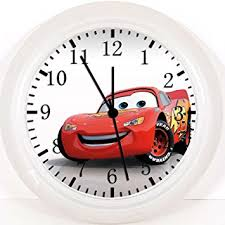 Disney Cars Home Decor Amazon Com New Disney Cars Mcqueen Wall Clock 10