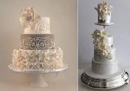 25th wedding anniversary ideas awesome 25th wedding anniversary cake with silver wedding