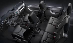 Jeep Wrangler Leather Interior 2017 Jeep Wrangler Unlimited Interior Comfort