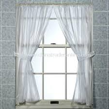 Plastic Window Curtains Bath Window Curtains Teawing Co