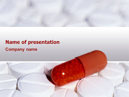 medication powerpoint template backgrounds 02592