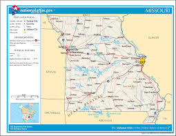 Missouri State Parks Map by Missouri Civil War Battles Timeline Military Martial Law Map