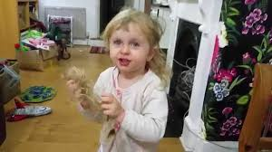 2 year hair cut 2 year old tallulah has cut her own hair and now she looks like