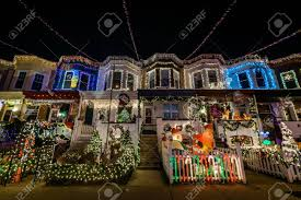 christmas lights in maryland holiday christmas lights on building in hden baltimore maryland