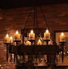 Chandelier Candle Medieval Chandelier Foter