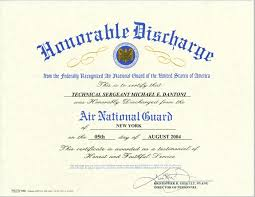 honorable discharge certificate certificates and awards versa tel