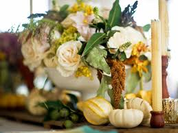 easy centerpieces for thanksgiving or fall hgtv