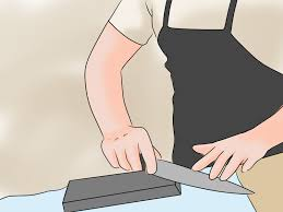 3 ways to sharpen a kitchen knife wikihow