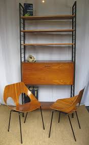 Staples Bookshelves by Antiques Atlas Staples Ladderax Teak And Black Metal Storage Unit