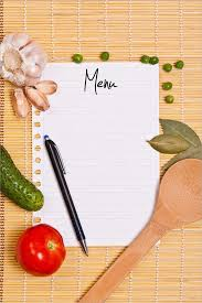 free blank menu template blank menu template free