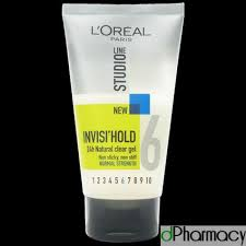 L Oreal Studio l oreal studio invisi hold hair gel 150ml