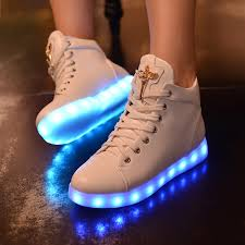 light shoes for women led light shoes luminous women casual glow in the dark light up