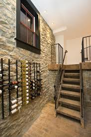 pretty traditional wine cellar room design interior with simple