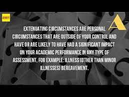 Extenuating Circumstances What Does It Mean Extenuating Circumstances Youtube