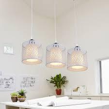 Living Room Pendant Lighting by Pendant Lights And White Shade For Living Room