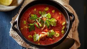 cuisine nord africaine nord africain soupe aux tomates avec boulettes d agneau paprika