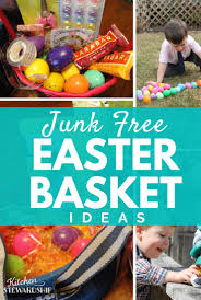 real food healthy easter basket ideas with no junk