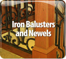Iron Banisters And Railings Stair Railing Post Treads Balusters And Newels Top Iron