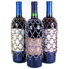 we sell more dangle wine bottle covers than any other design