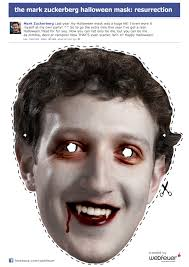 the mark zuckerberg halloween mask resurrection die social