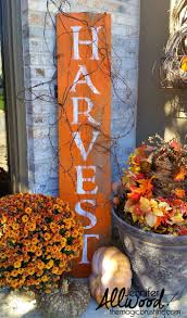 sign for thanksgiving harvest barnwood sign for fall fall decor thanksgiving and autumn
