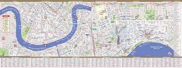 City Map Of New Orleans by New Orleans Map By Vandam New Orleans Streetsmart Map City