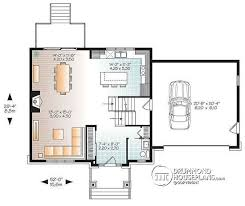 Large Kitchen House Plans House Plan W3881 Detail From Drummondhouseplans Com
