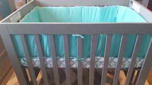 Mini Crib Fitted Sheet by Oragami Mini Crib By Babyletto Review Youtube